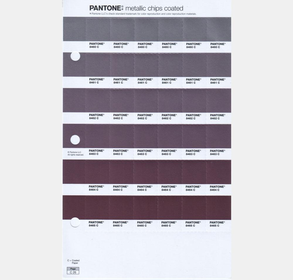 Pantone Metallics Page 25